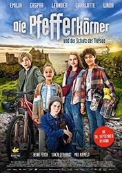 """""""Die Pfefferkörner und der Schatz der Tiefsee"""" Filmplakat (© Wild Bunch Germany)"""