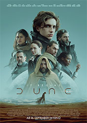 """""""Dune"""" Filmplakat (© 2021 Warner Bros. Entertainment Inc. All Rights Reserved.)"""