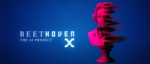 Beethoven X - The AI Project - Key Visual (© Modern Recordings / BMG)