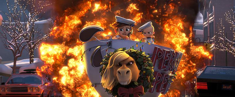 """Boss Baby – Schluss mit Kindergarten"" Szenenbild (© 2021 DreamWorks Animation LLC. All Rights Reserved.)"
