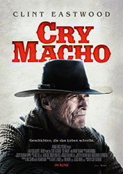 """""""Cry Macho"""" Filmplakat (© 2021 Warner Bros. Entertainment Inc. All Rights Reserved.)"""