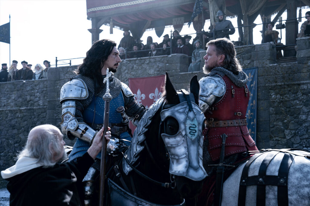 """""""The Last Duel"""" Szenenbild (© Disney)"""