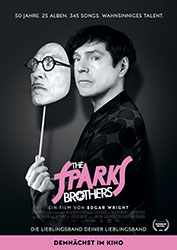 """""""The Sparks Brothers"""" Filmplakat (© Universal Pictures)"""