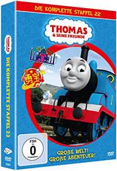 """""""Thomas & seine Freunde"""" – Staffel 22 DVD-Box (© justbridge entertainment GmbH)"""