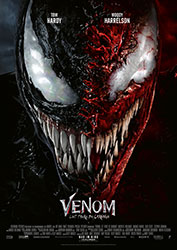 """""""Venom: Let There Be Carnage"""" Filmplakat (© 2021 Sony Pictures Entertainment Deutschland GmbH)"""