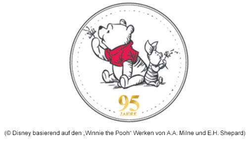"""95 Jahre Winnie Puuh (© Disney basierend auf den """"Winnie the Pooh"""" Werken von A.A. Milne und E.H. Shepard)"""